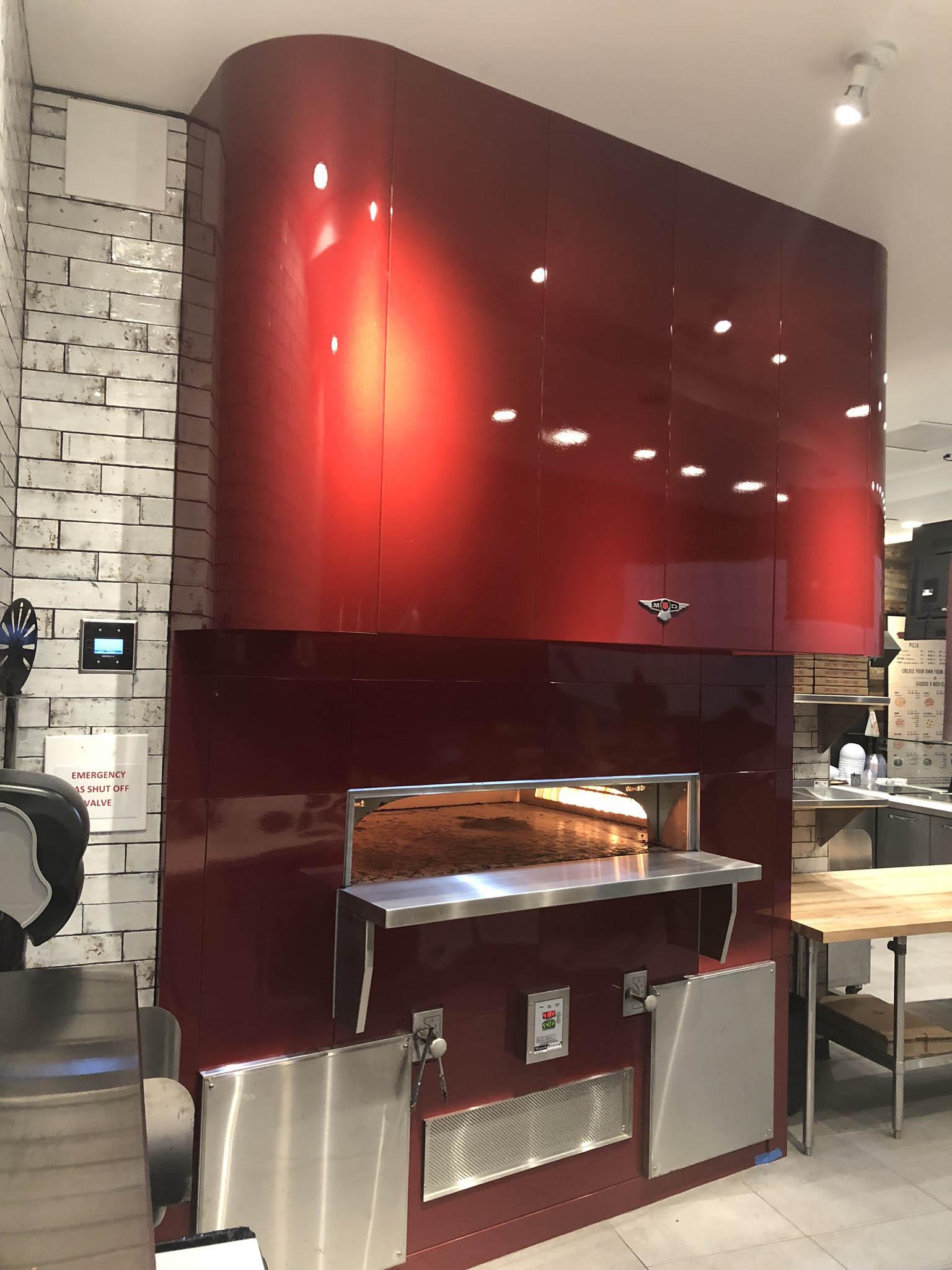 Mod Pizza Custom Fabrication Services - ACM Panels, MCM